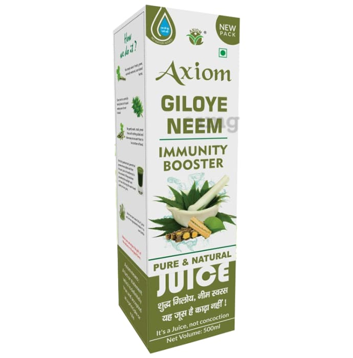 Axiom Giloye Neem Immunity Booster Pure And Natural Juice