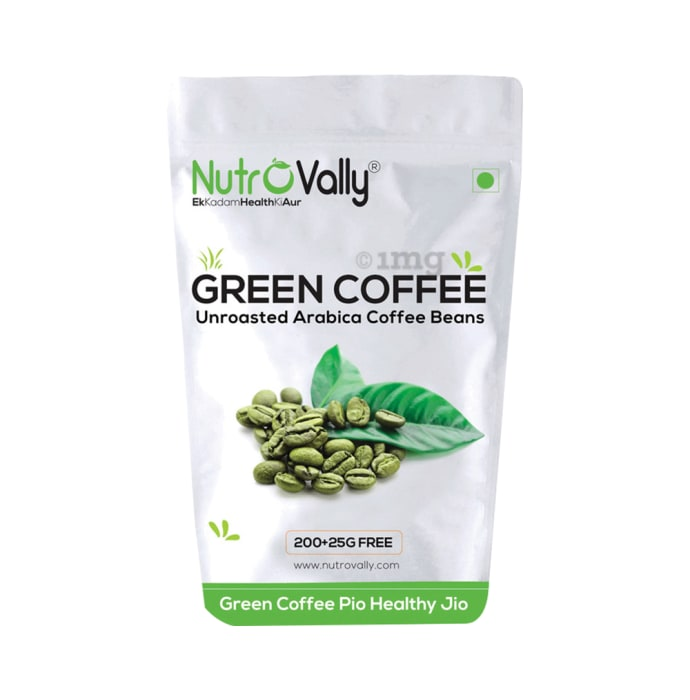 Nutrovally Green Coffee Unroasted Arabica Coffee Beans ...