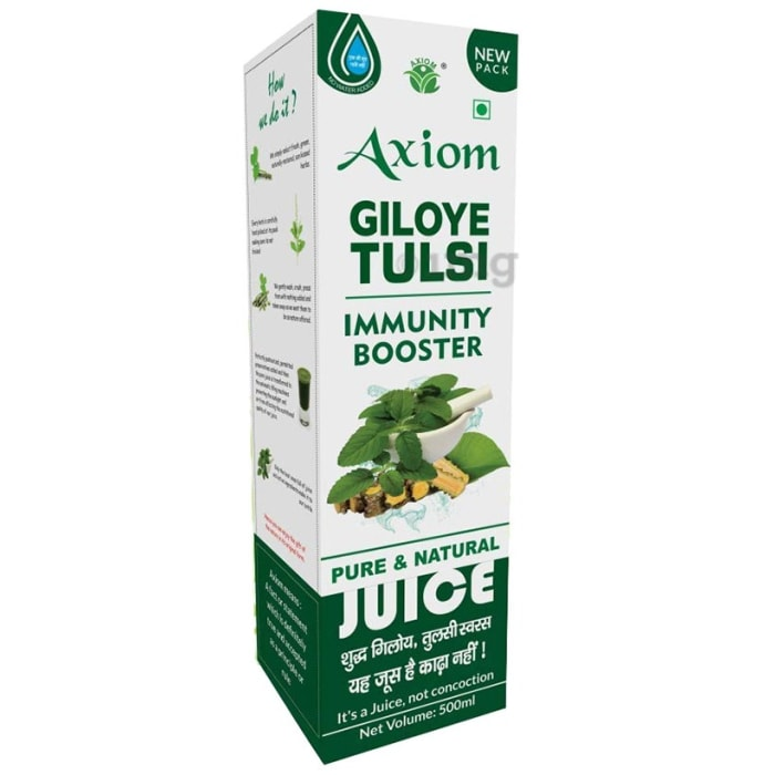 Axiom Giloye Tulsi Immunity Booster Pure And Natural Juice