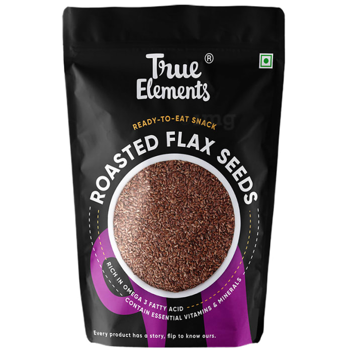 True Elements Roasted Flax Seeds