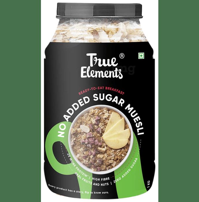 True Elements Muesli No Added Sugar