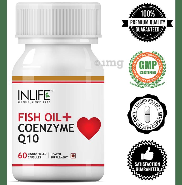 Inlife Fish Oil + Coenzyme Q10 Capsule