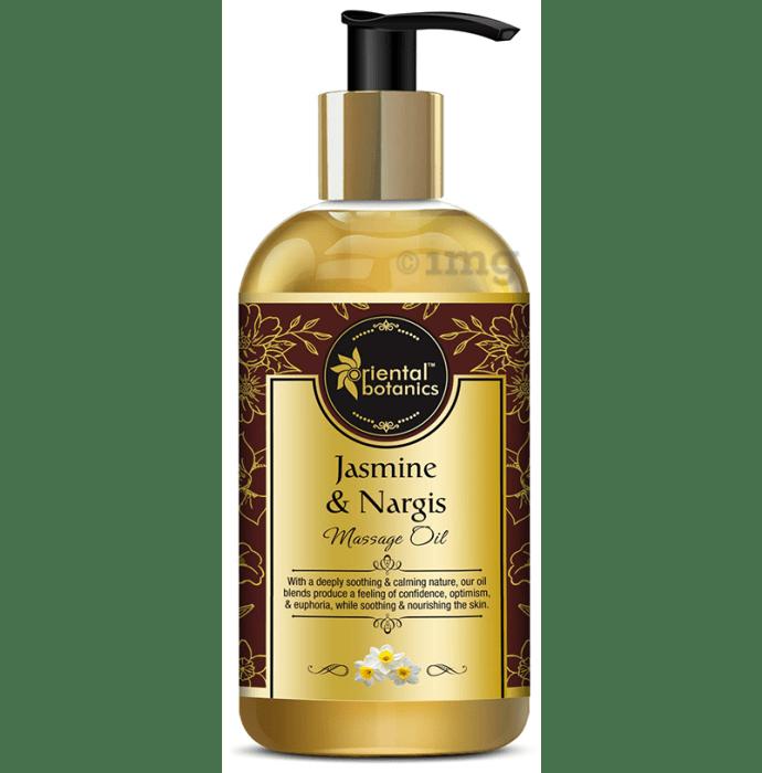 Oriental Botanics Body Massage Oil with Jasmine & Nargis