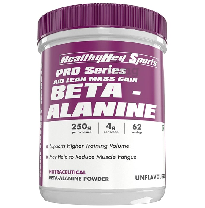 HealthyHey Sports Beta-Alanine Unflavoured