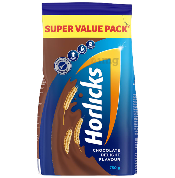 Horlicks Health and Nutrition Drink Refill Pack Chocolate Delight