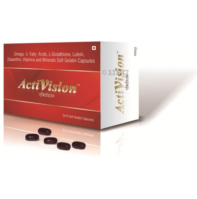 Activision Soft Gelatin Capsule