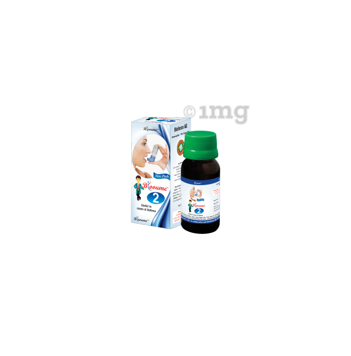 Bioforce Blooume 2  Asthmasan Drop