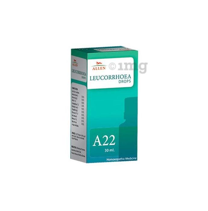 Allen A22 Leucorrhoea Drop
