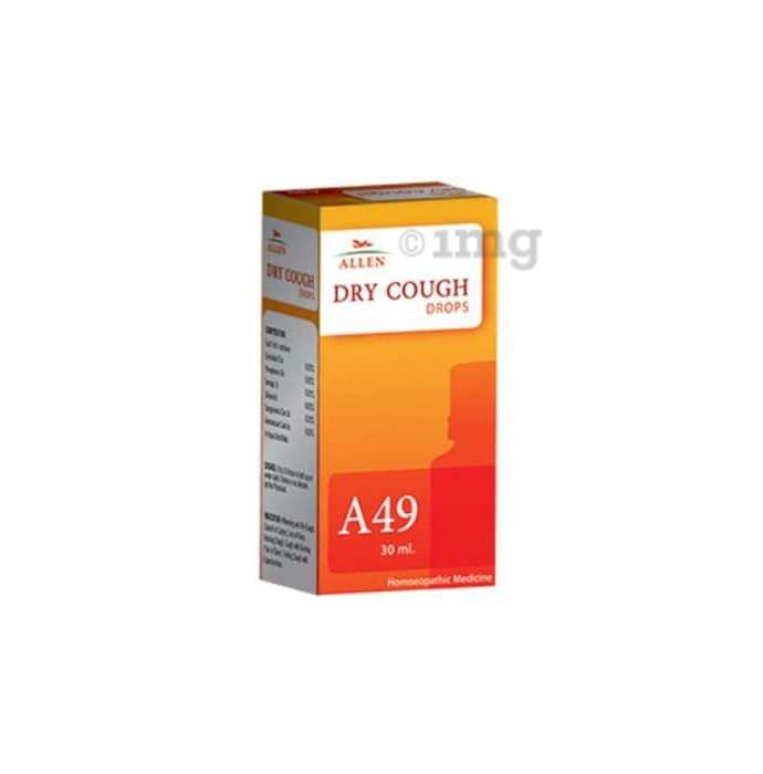Allen A49 Dry Cough Drop
