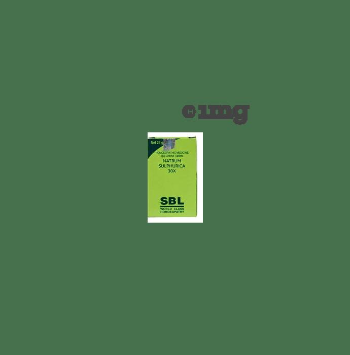 SBL Natrum Sulphurica Biochemic Tablet 30X