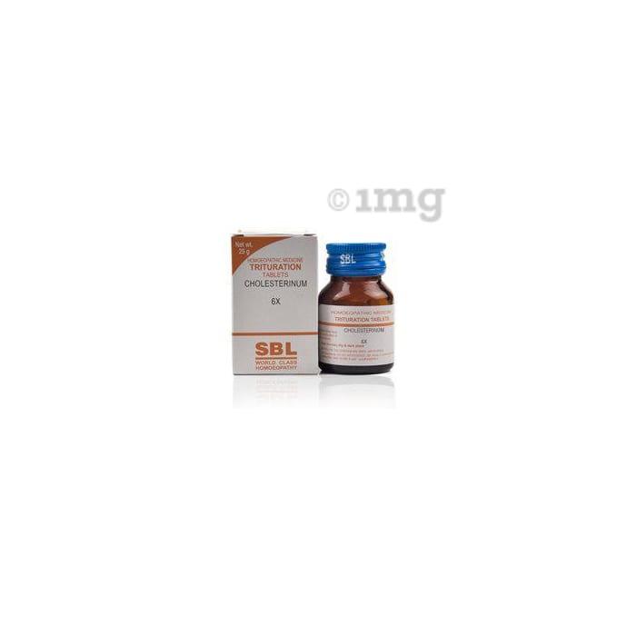 SBL Cholesterinum Trituration Tablet 6X