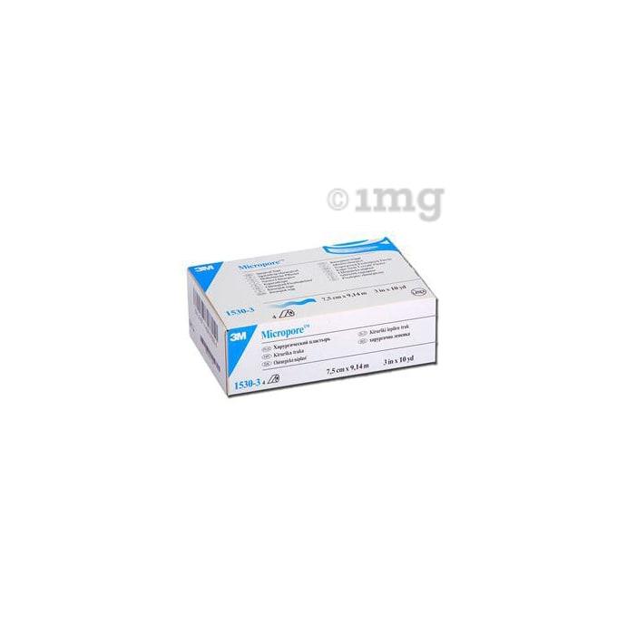 3M 1530-3 Micropore Surgical Tape 7.5cm