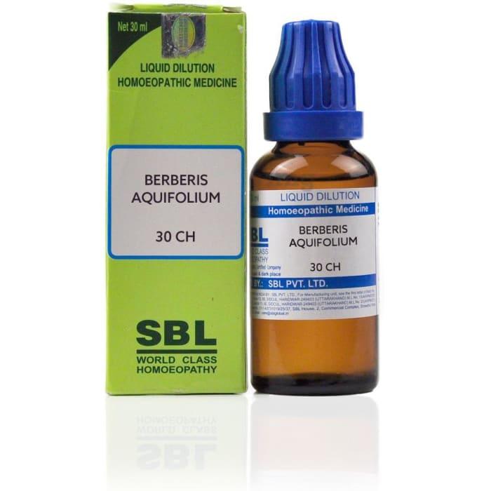 SBL Berberis Aquifolium Dilution 30 CH