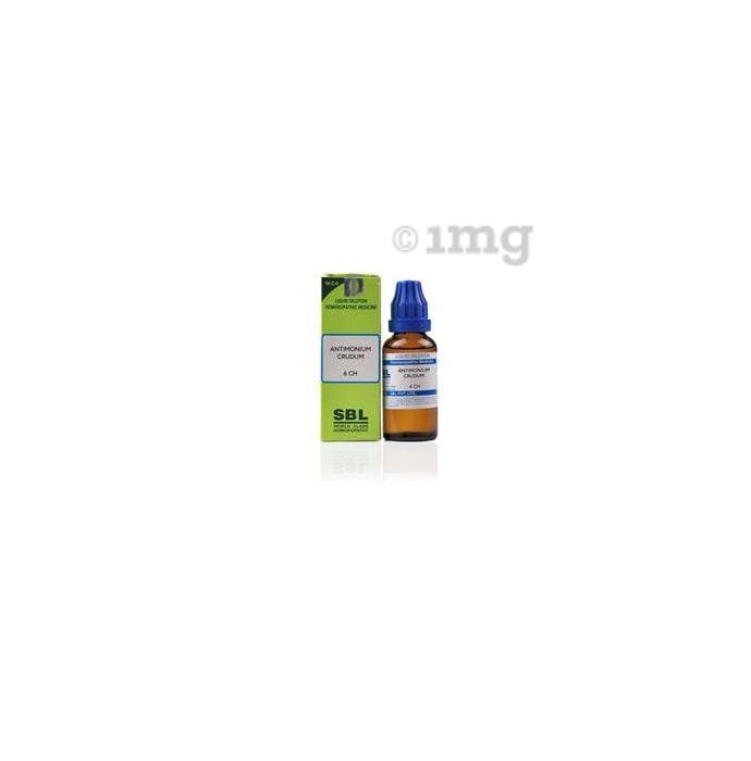 SBL Antimonium Crudum Dilution 6 CH