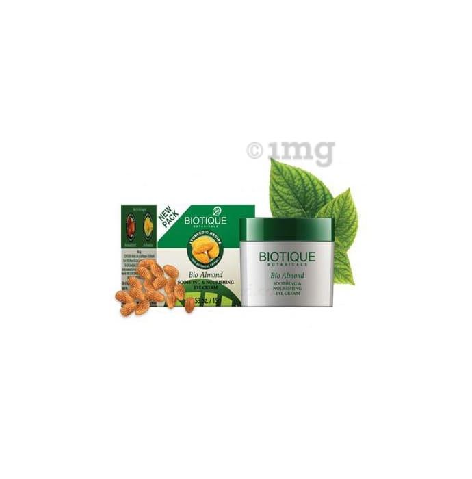 Biotique Bio Almond Soothing & Nourishing Eye Cream