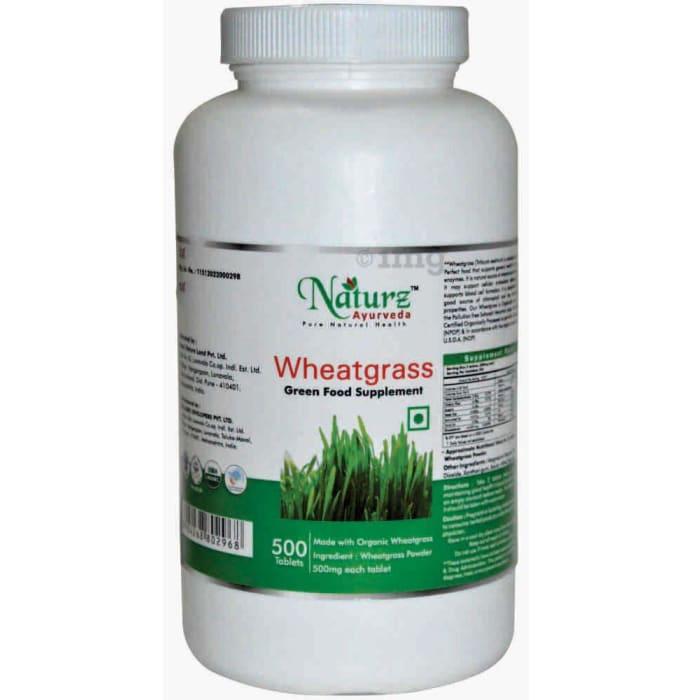 Naturz Ayurveda Wheatgrass Tablet
