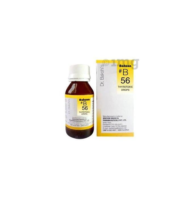 Bakson's B56 Thyrotoxic Drop
