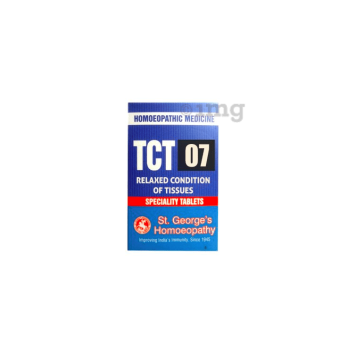 St. George's TCT 07  Relaxed Condition Of Tissues Tablet