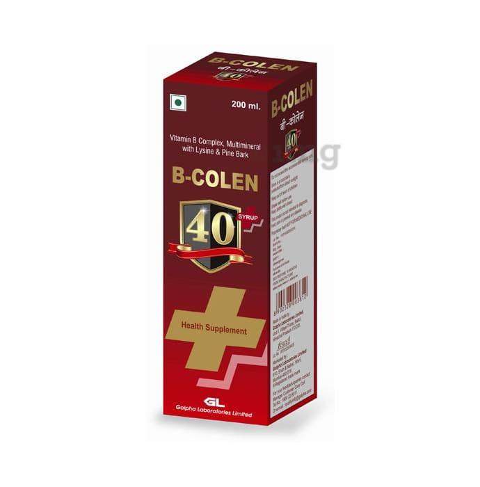 B Colen 40+ Syrup