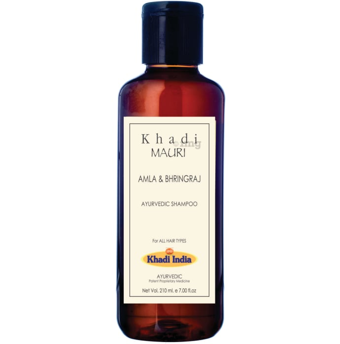 Khadi Mauri Herbal Amla and Bhringraj Herbal Shampoo