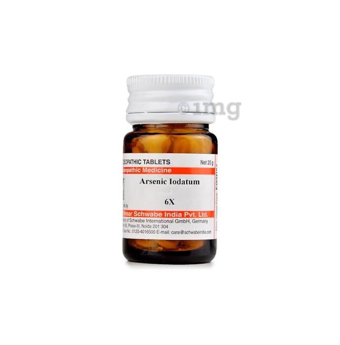 Dr Willmar Schwabe India Arsenic Iodatum Trituration Tablet 6X