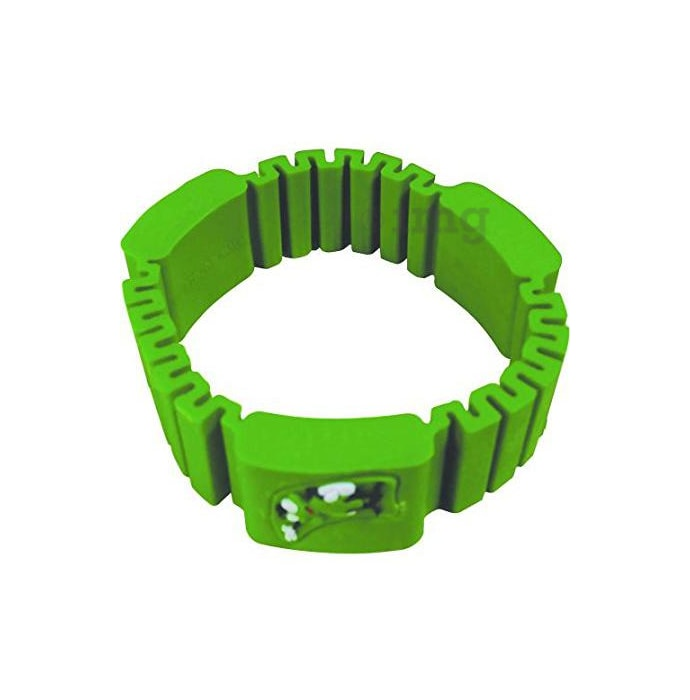 Surety for Safety Mosquito Repellent Bracelet Green