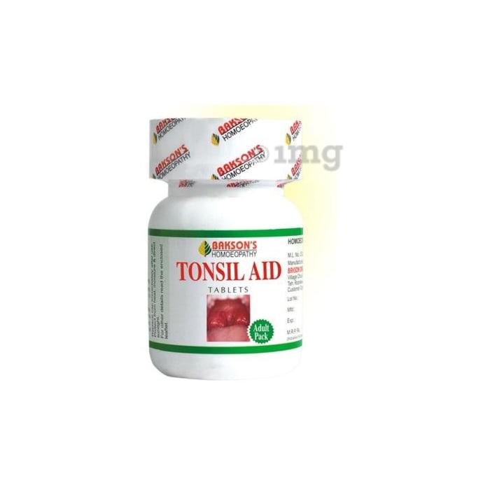 Bakson's Tonsil Aid Tablet