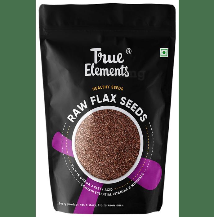 True Elements Flax Raw Seeds