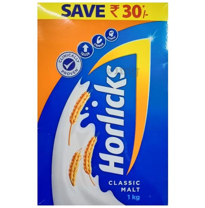 Horlicks Health and Nutrition Drink Refill Pack Classic Malt