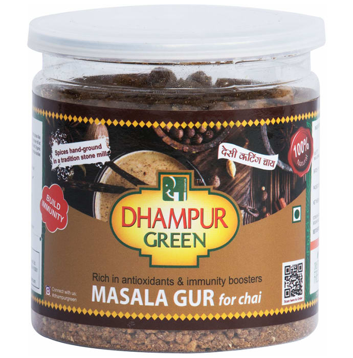 Dhampur Green Gur Masala for Chai