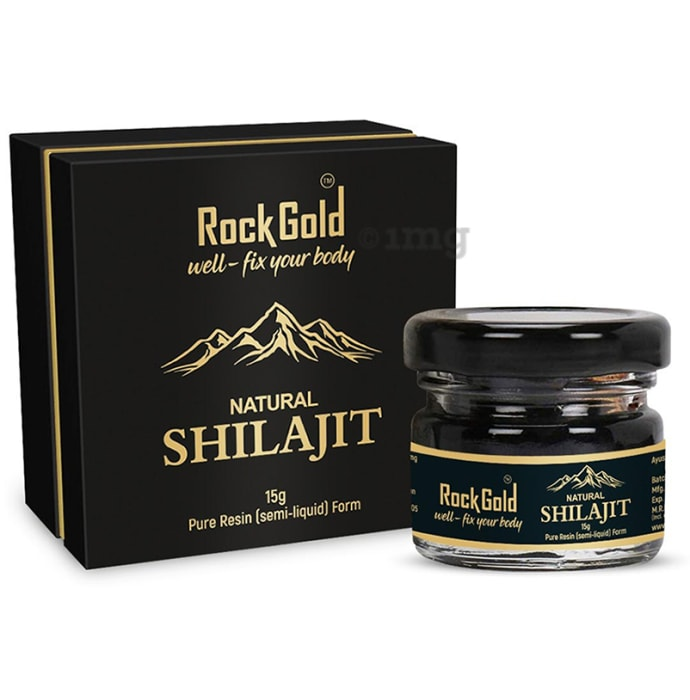 Rock Gold Natural Shilajit (Semi-Liquid)