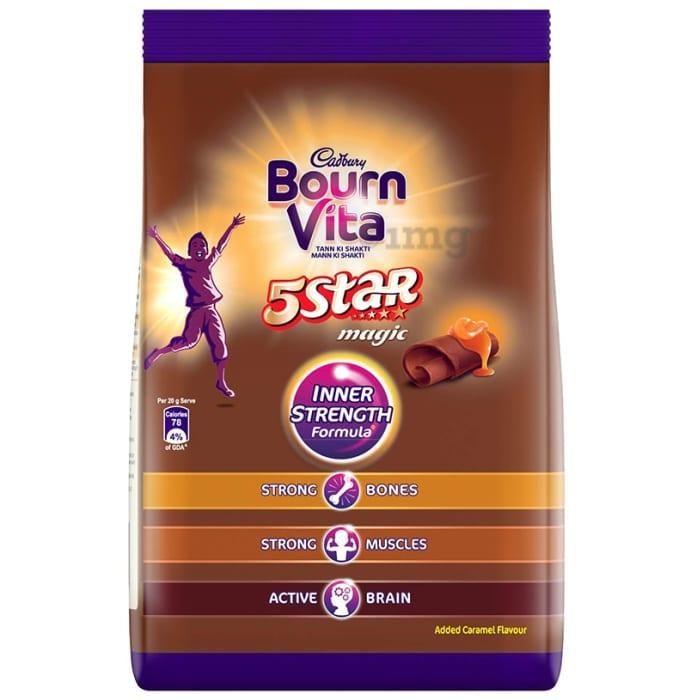 Cadbury Bournvita 5 Star Magic Health Drink Refill Pack