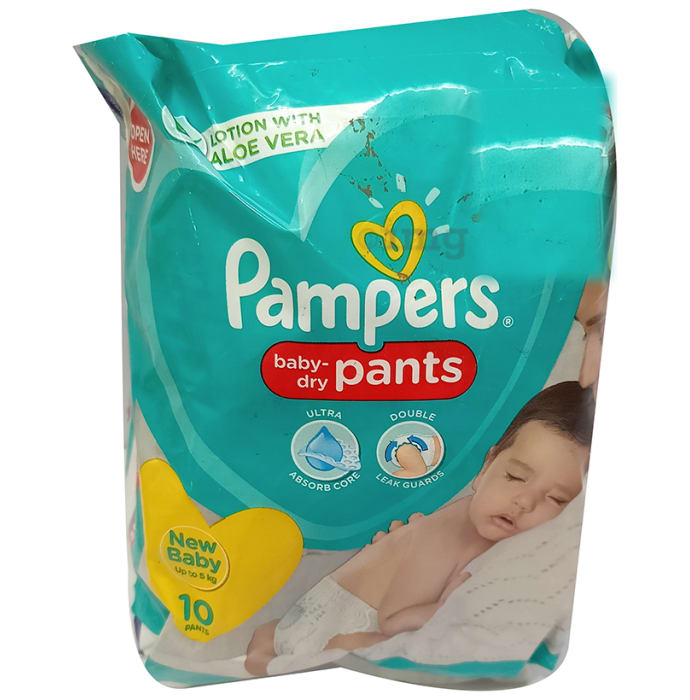 Pampers Lotion with Aloe Vera NB Baby-Dry Pants