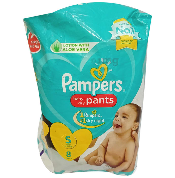 Pampers Lotion with Aloe Vera Small Baby-Dry Pants