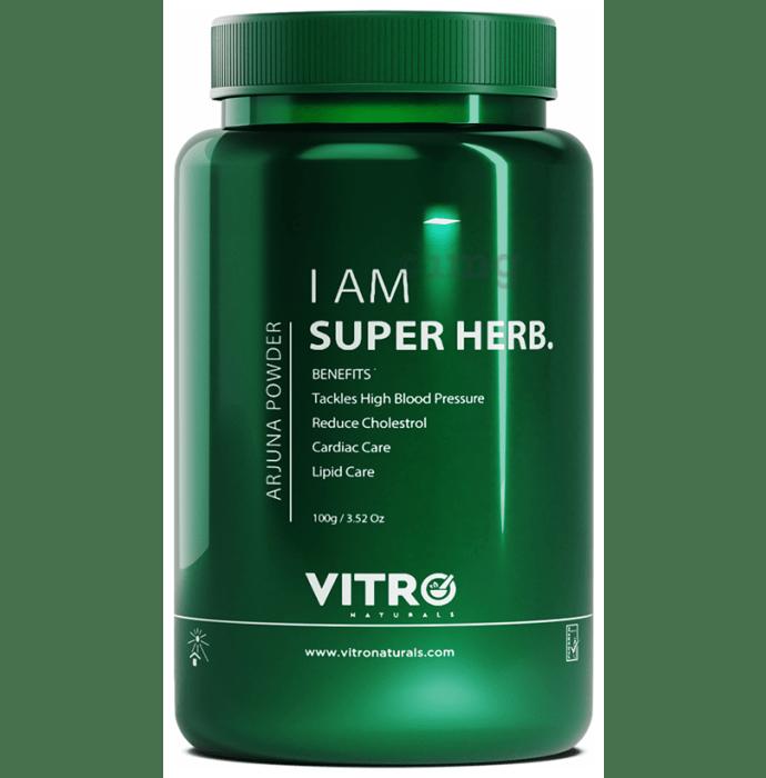 Vitro Naturals I Am Super Herb Arjuna Powder