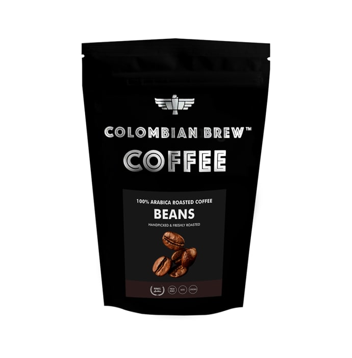 Colombian Brew 100% Arabica Roasted Coffee Beans