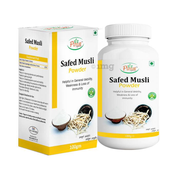 Puyur Ayurveda Safed Musli Powder