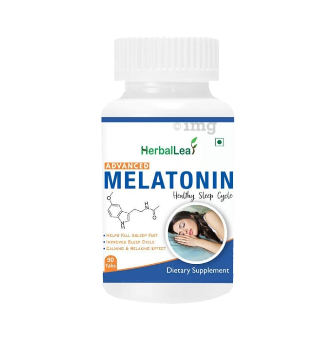 HerbalLeaf Advanced Melatonin 10mg Tablet