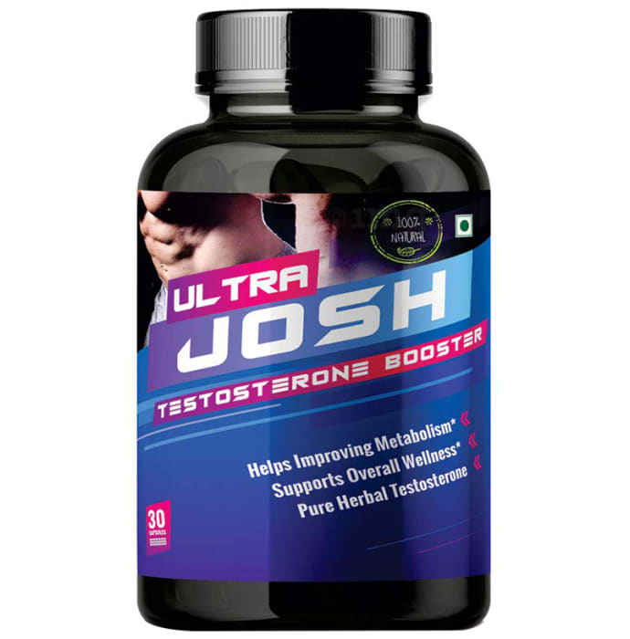Nutrafirst Ultra Josh Testosterone Booster Capsule: Buy bottle of 30 capsules at best price in