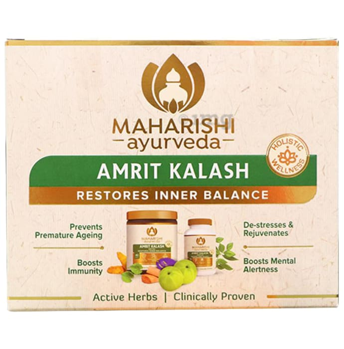 Maharishi Combo of Amrit Kalash 60 Tablets & 600gm Paste