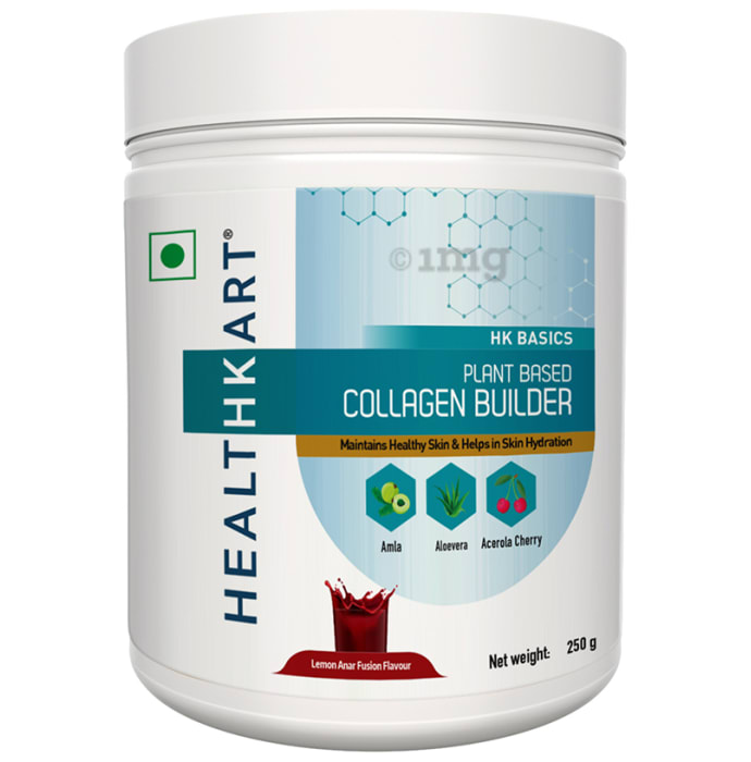 HealthKart Plant Based Collagen Builder Lemon Anar Fusion