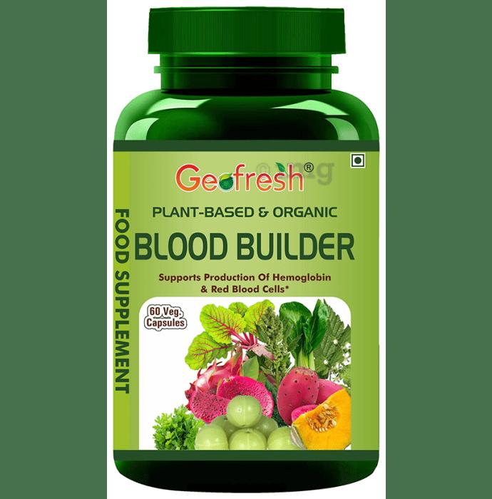 Geofresh Natural Plant Based & Organic Blood Builder Veg Capsule