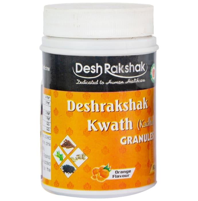 Desh Rakshak Kwath (Kadha) Granules (50gm Each) Orange