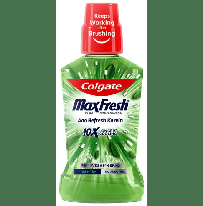 Colgate MaxFresh Plax Mouth Wash Fresh Tea