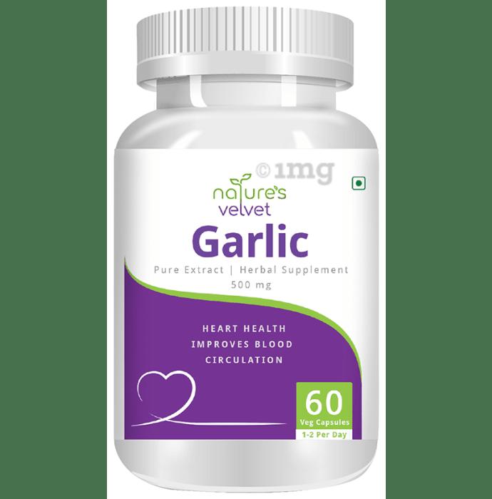 Nature's Velvet Garlic Pure Extract 500mg Capsule