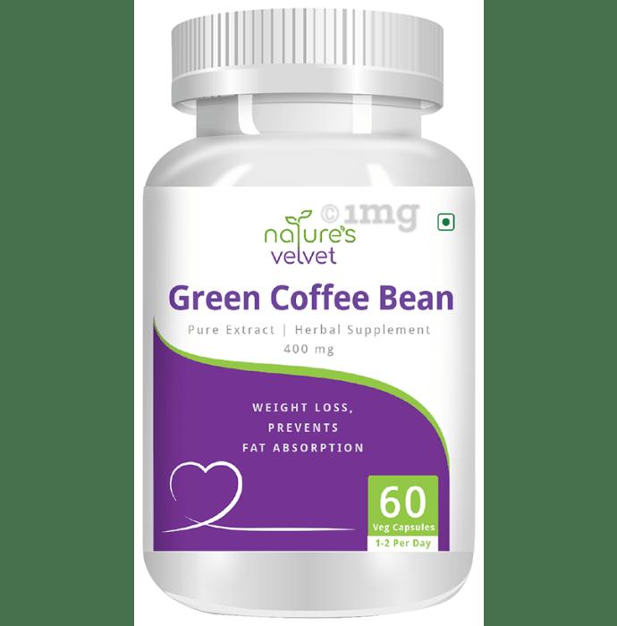 Nature's Velvet Green Coffee Bean Pure Extract 400mg Capsule