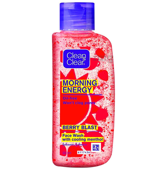 Clean & Clear Morning Energy Face Wash Berry Blast