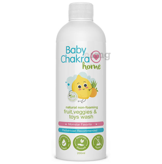 Baby Chakra Home Fruit, Veggies & Toys Wash
