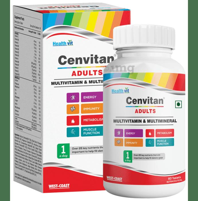 HealthVit Cenvitan Adults Multivitamin & Multimineral Tablet