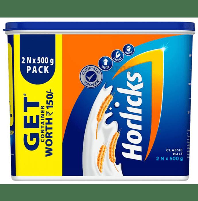 Horlicks Health and Nutrition Drink Powder Classic Malt